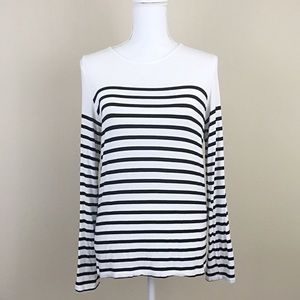 Forever 21 striped long sleeve shirt size small